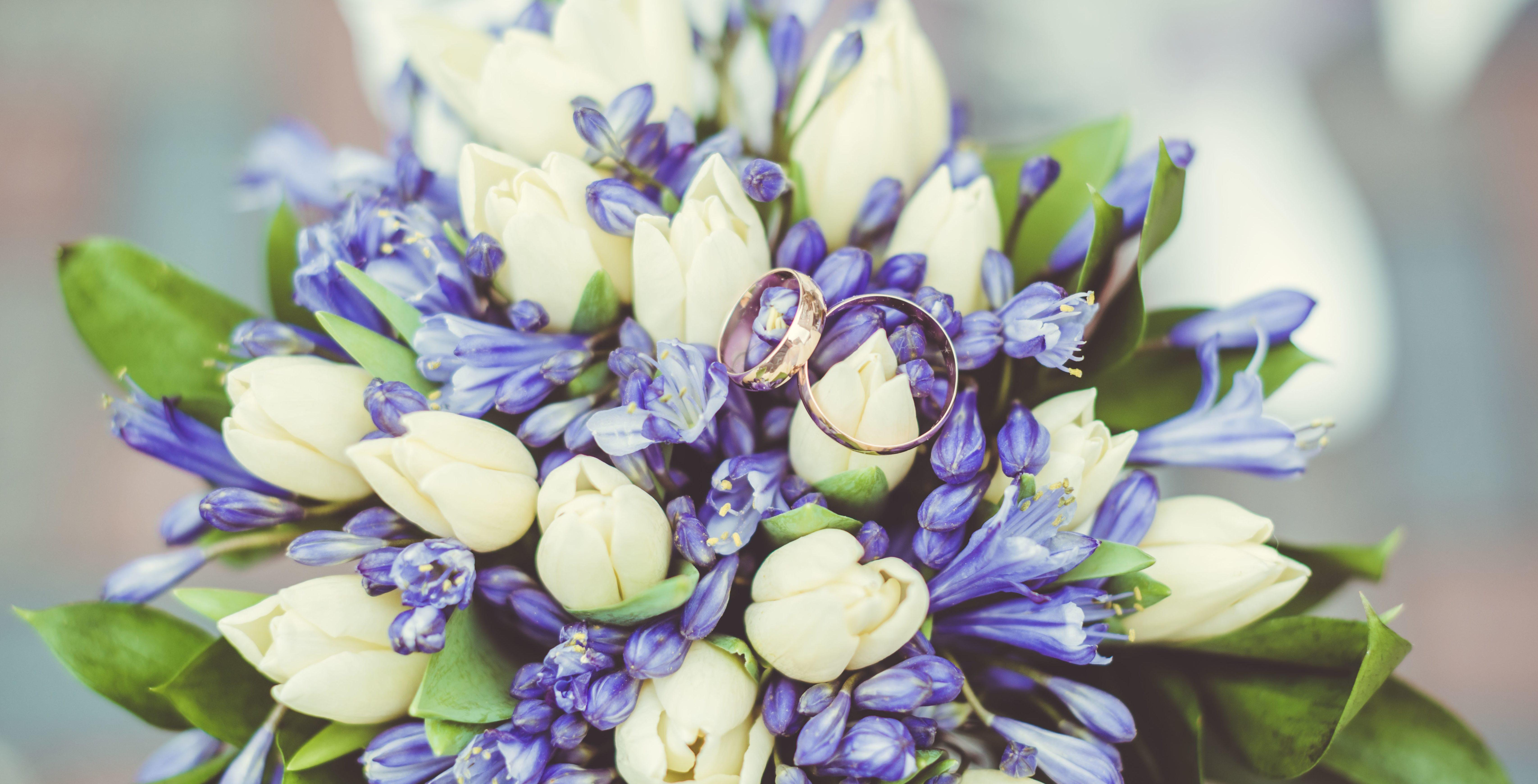 Букет невесты из тюльпанов