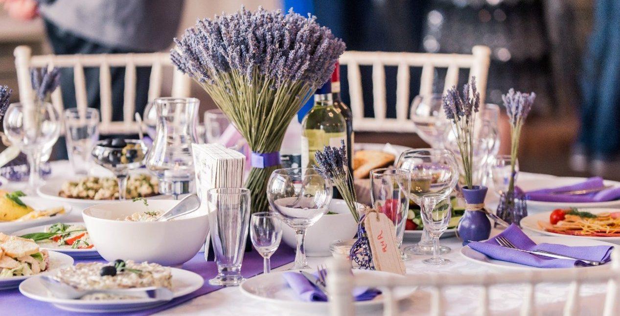 Как расставить столы на свадьбе