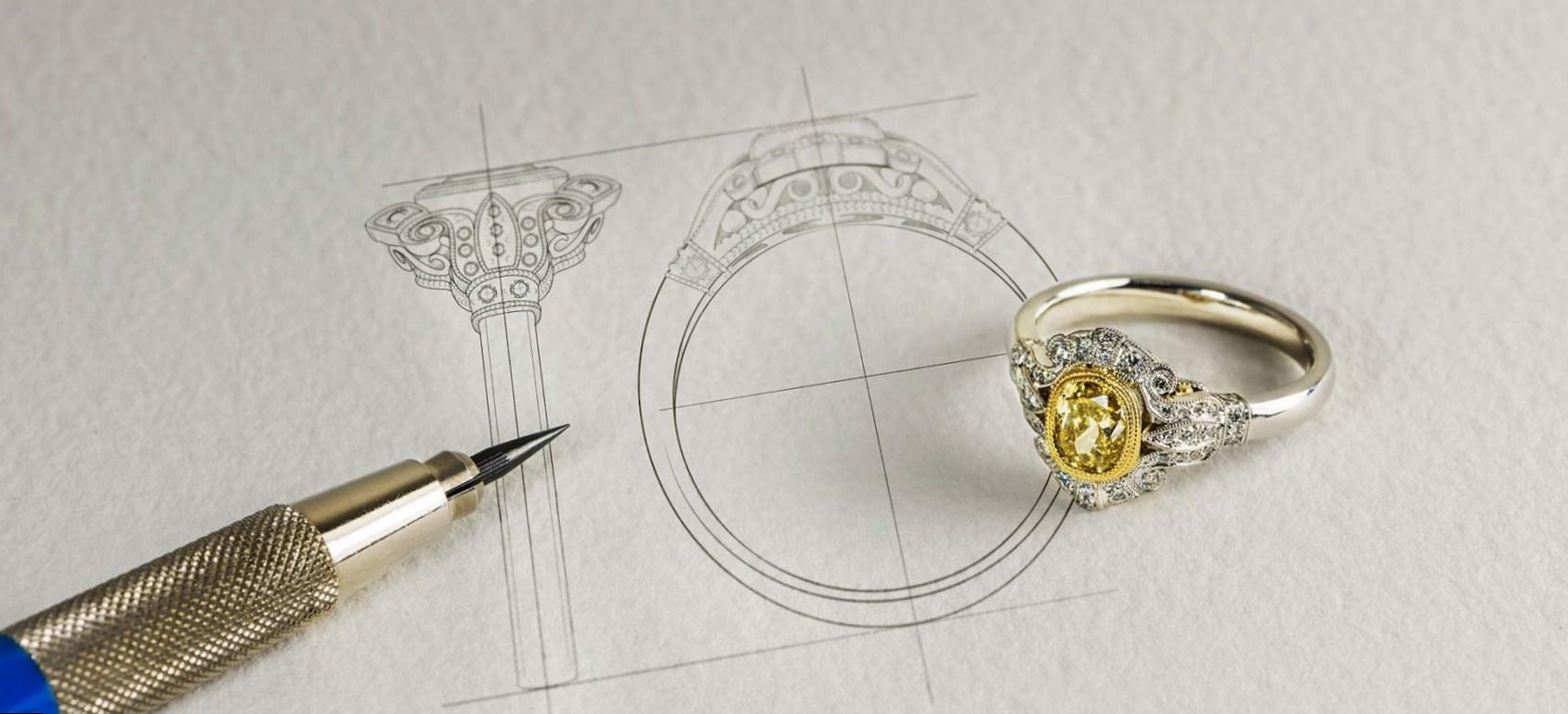 Самые необычные помолвочные кольца