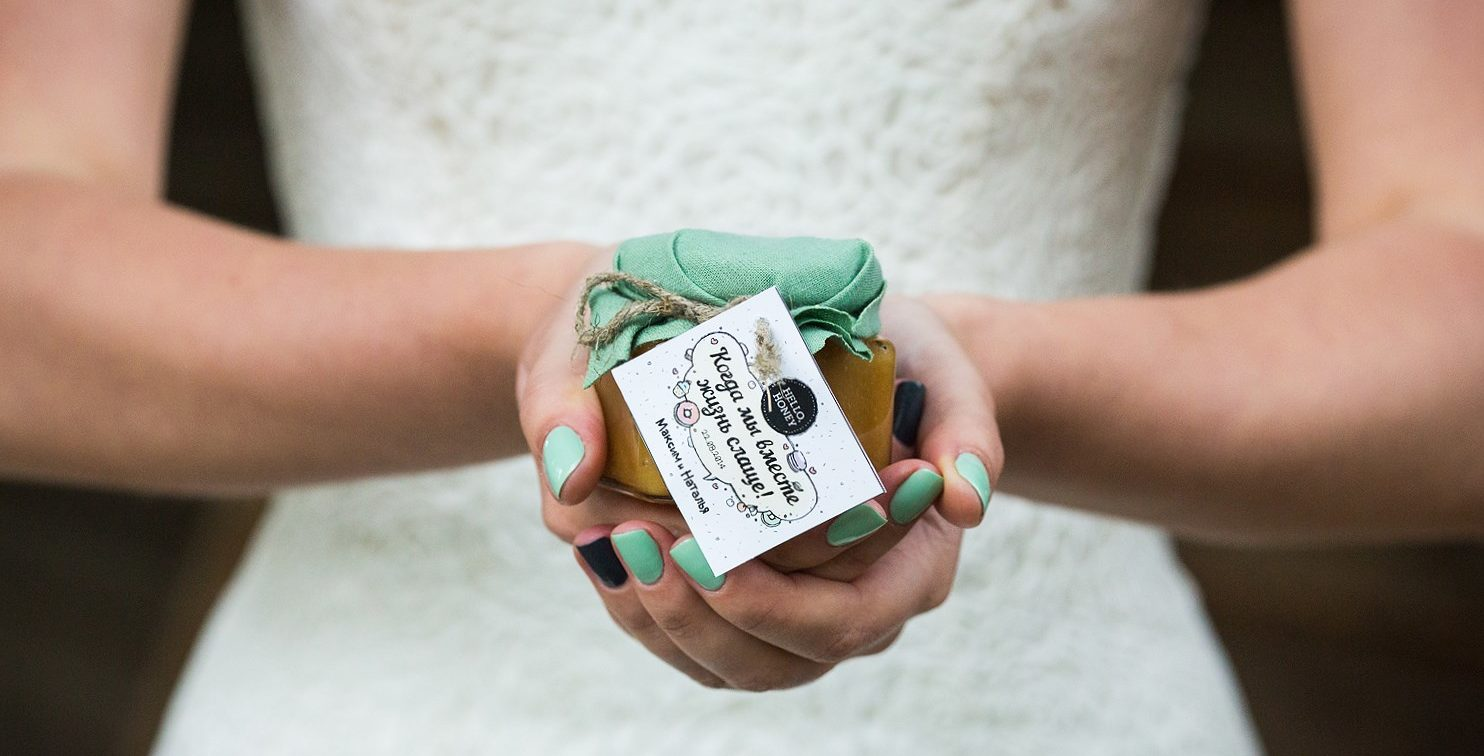 Баночки бонбоньерки на свадьбу