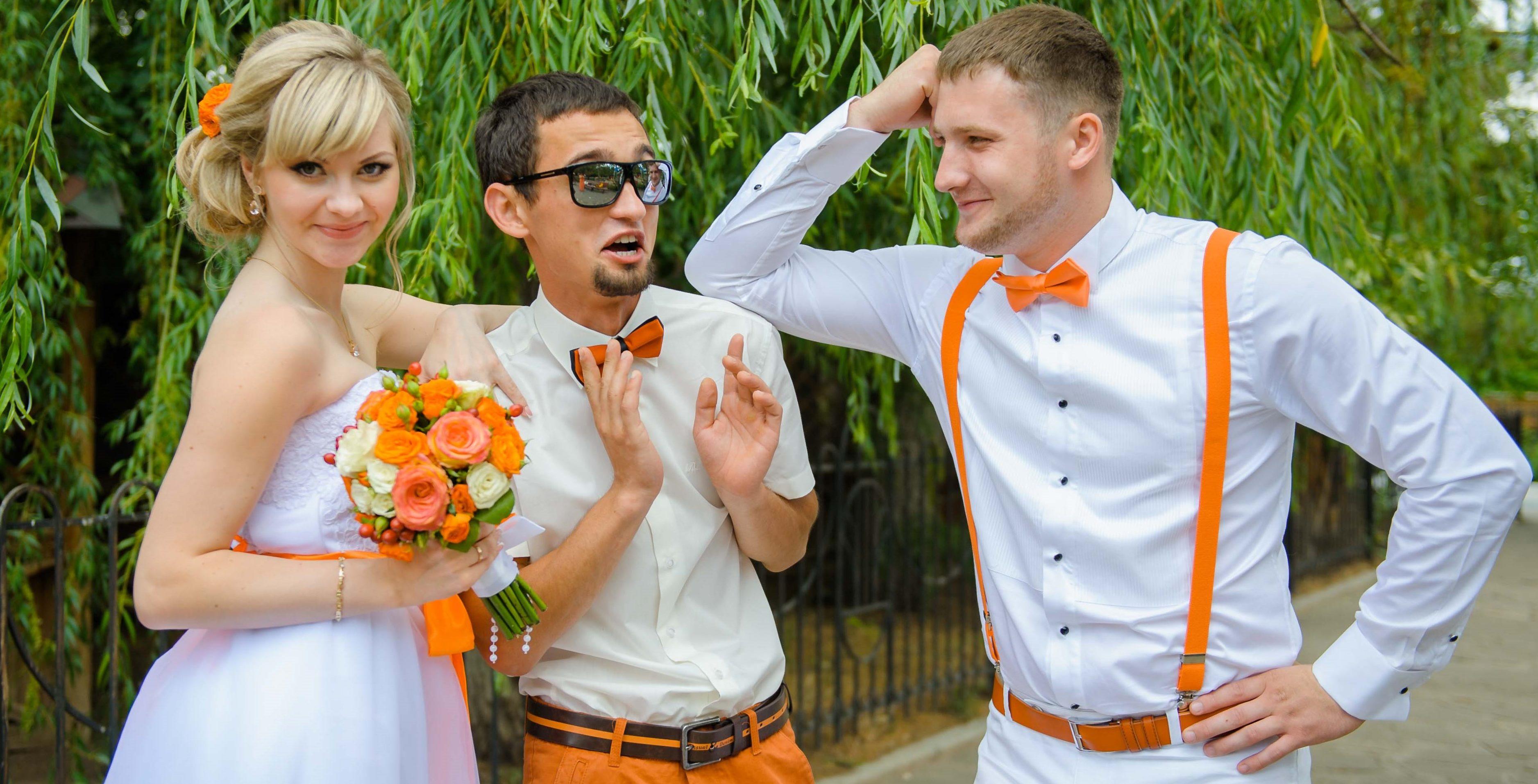 В чем должна быть свидетельница на свадьбе фото