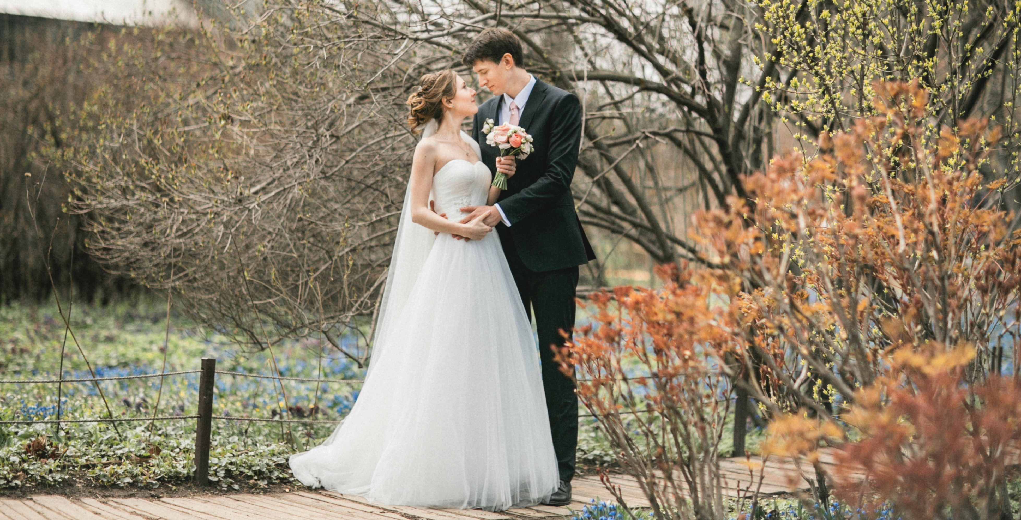 Свадьба в апреле