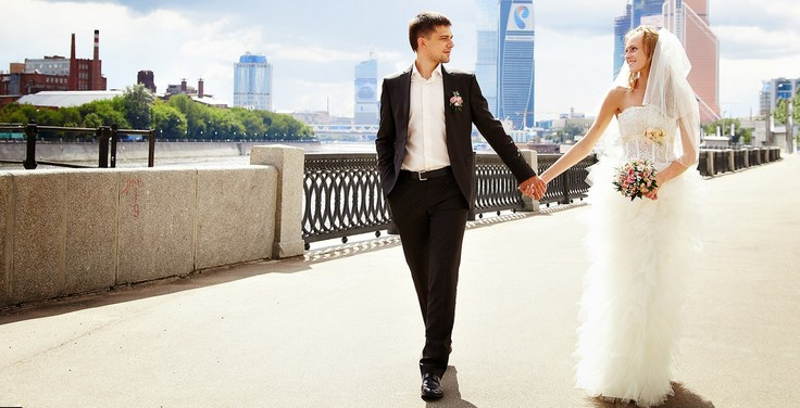 Места для свадебной прогулки в Москве