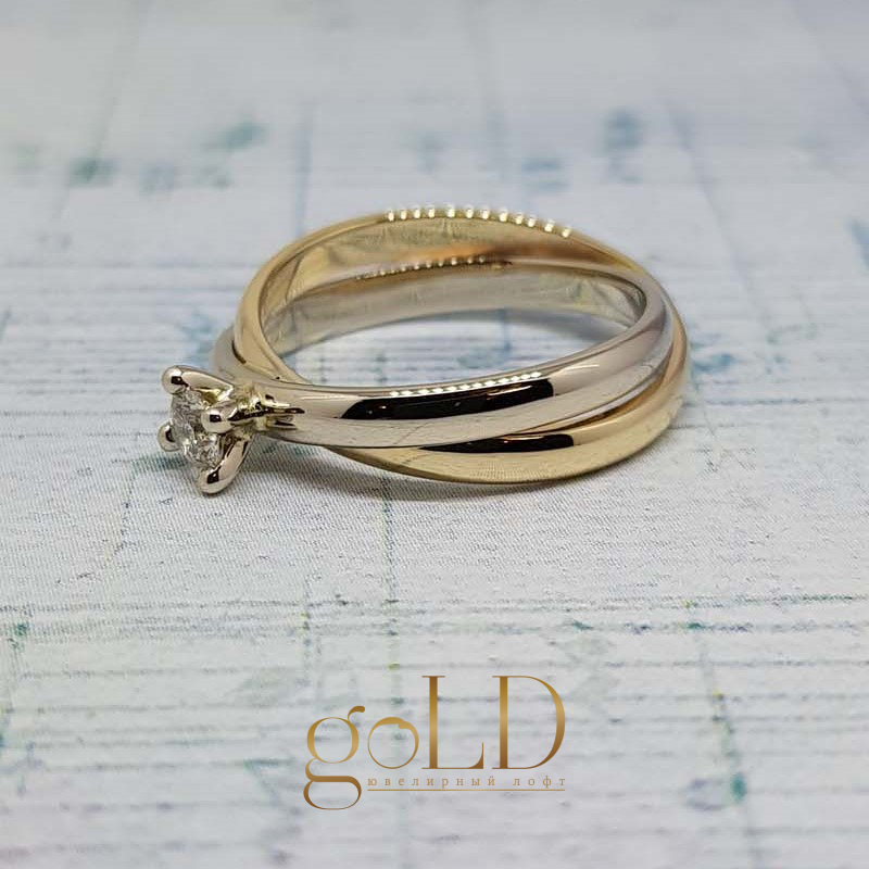 Помолвочное кольцо своими руками в Москве фото