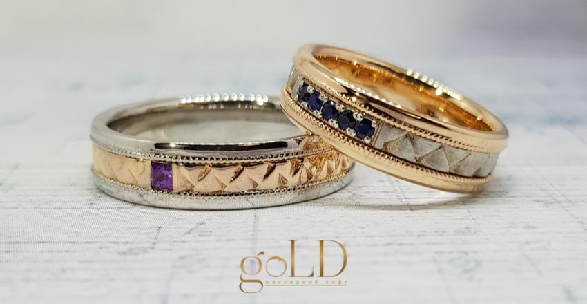Обручальное кольцо своими руками фото