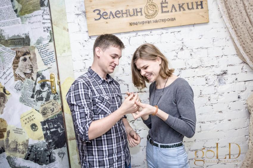 Помолвочное кольцо своими руками фото