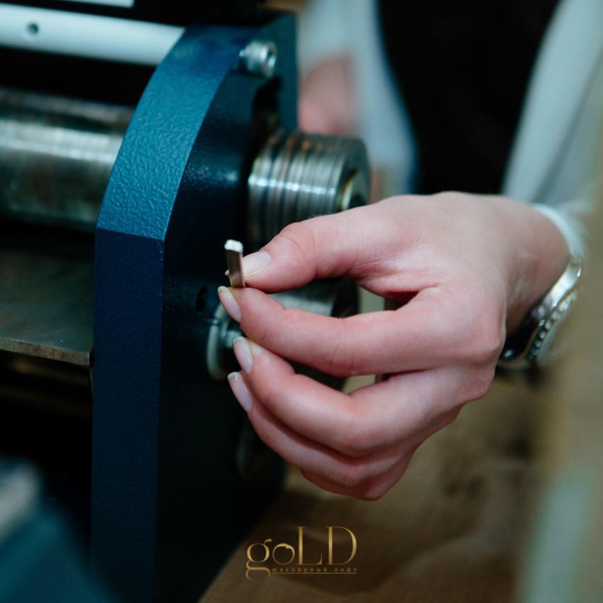 Создание прокатом обручальных колец своими руками в Москве фото