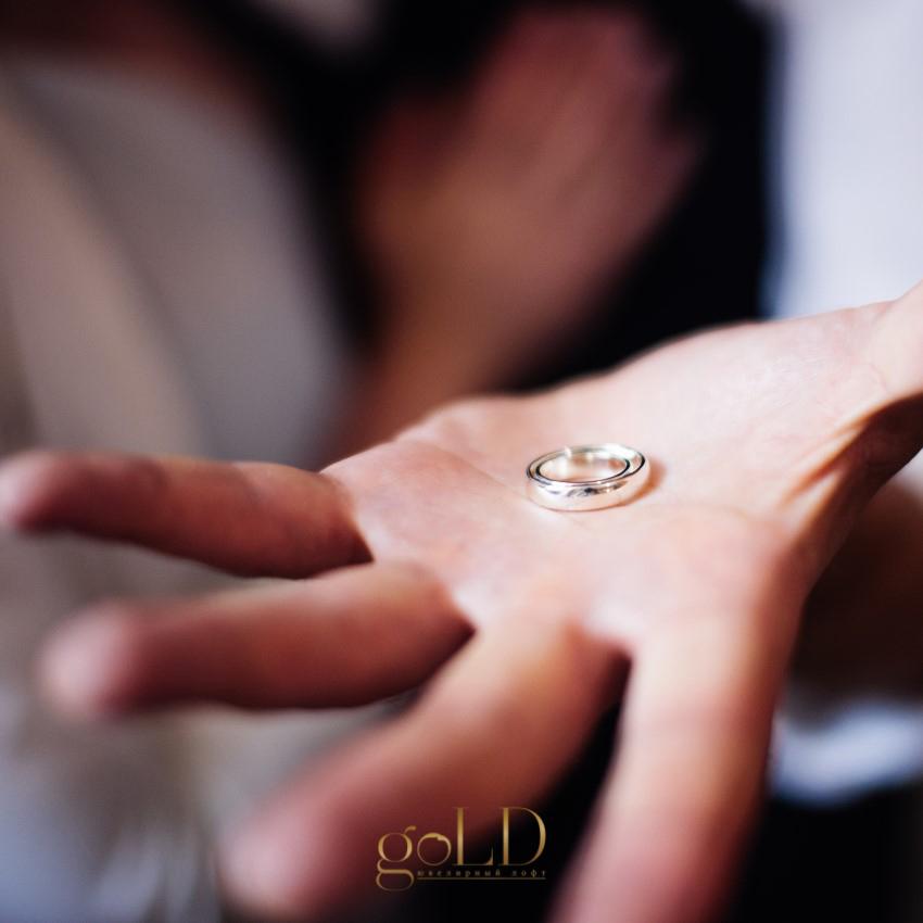 Готовое обручальное кольцо своими руками фото