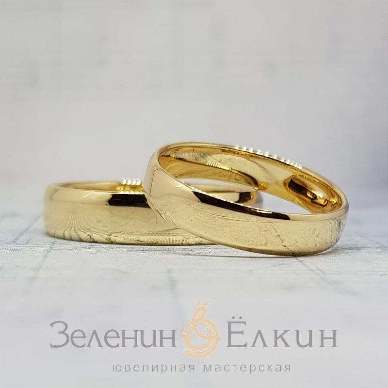 Классические обручальные кольца своими руками в Москве фото