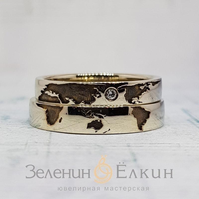 Обручальные кольца на заказ в Москве фото