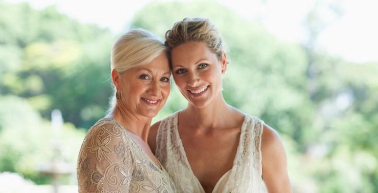 Прически для мамы невесты