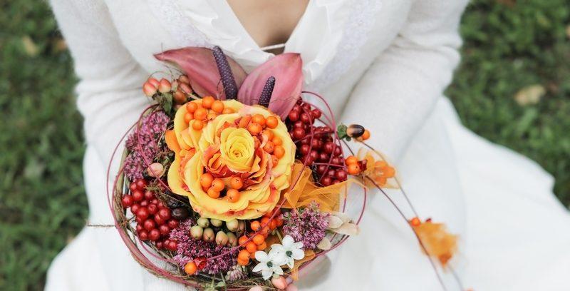 Альтернатива свадебному букету