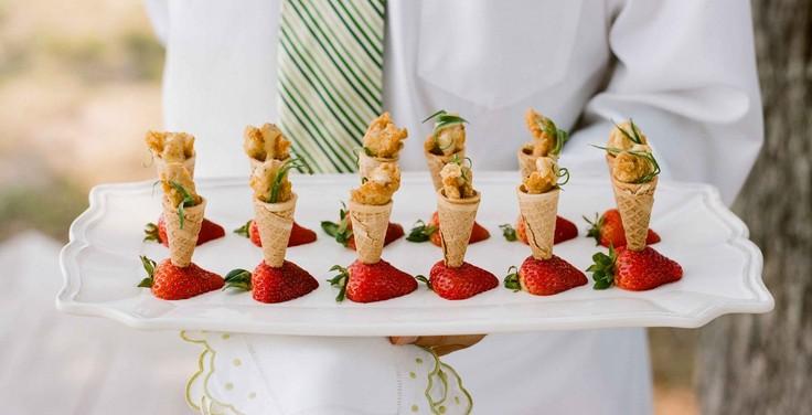 Закуски на свадебный стол