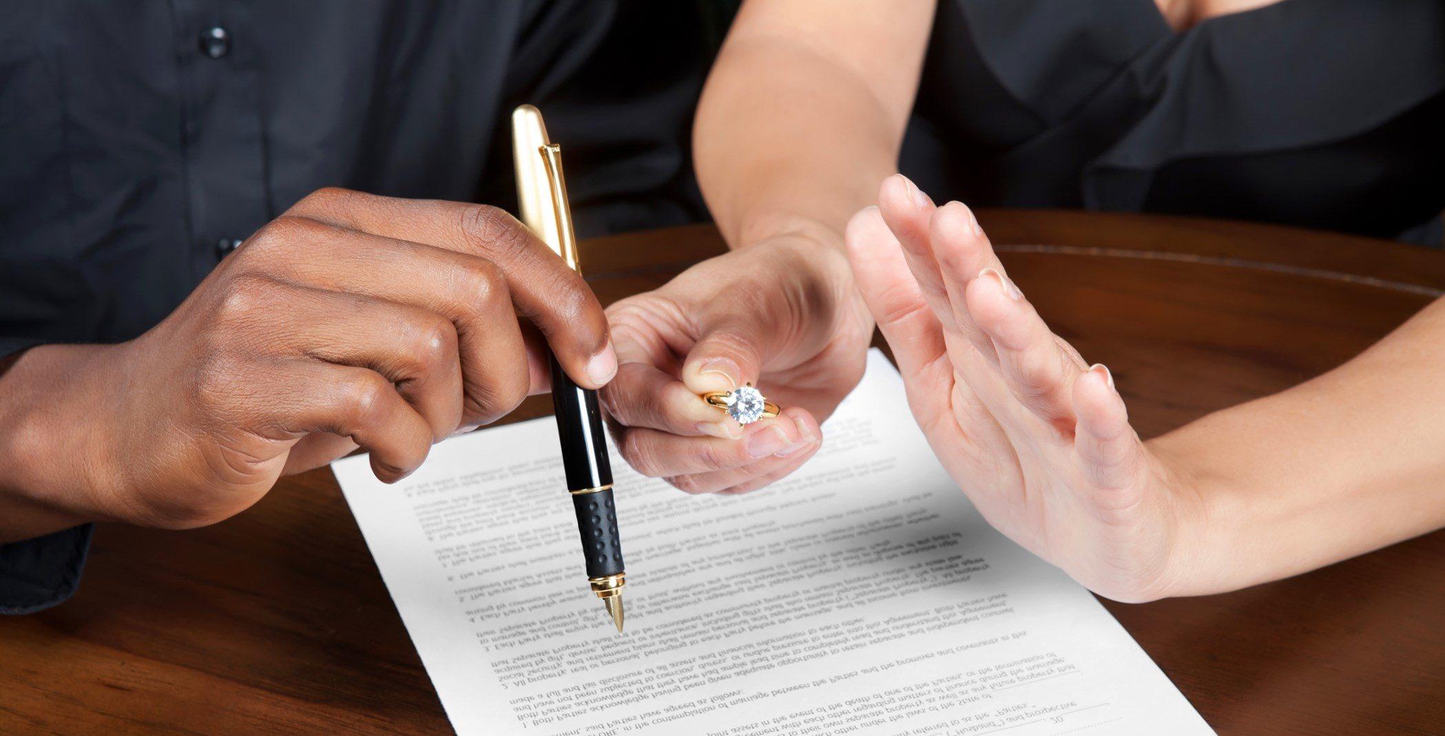 Развод в ЗАГСе