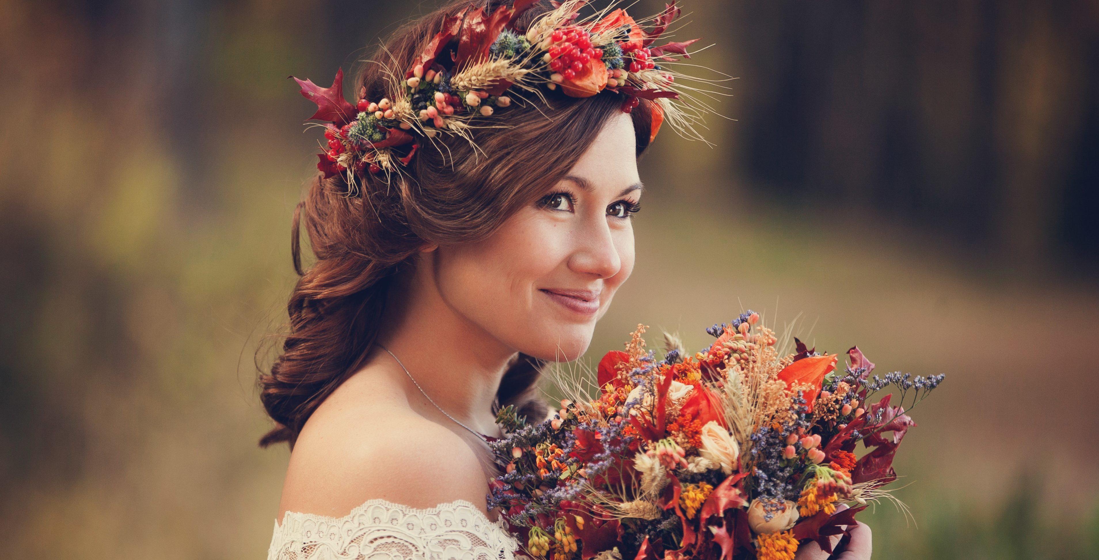 Свадебный венок