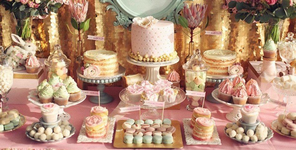 Кэнди бар на свадьбу