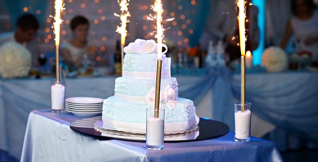 Свадебные торты в стиле тиффани