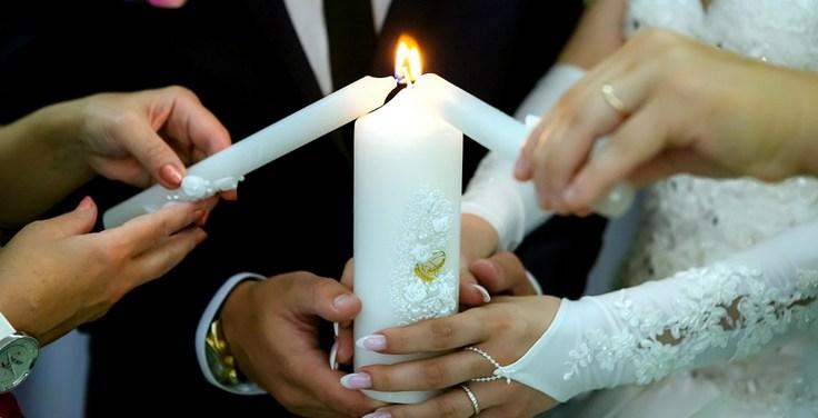 Свадебный очаг своими руками